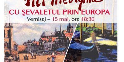 """""""Cu șevaletul prin Europa"""" – expoziție de pictură la Biblioteca Metropolitană București"""