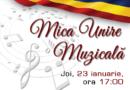 """""""Mica Unire Muzicală"""" – concert aniversar"""
